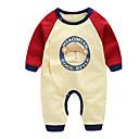 ieftine Baby Boys' One-Piece-Bebelus Băieți Activ Imprimeu Manșon Lung Poliester O - piesă Bej 59