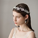 cheap Party Headpieces-Imitation Pearl Headbands with Imitation Pearl 1 Piece Wedding / Party / Evening Headpiece