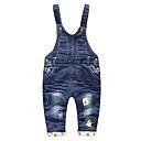 ieftine Pantaloni Băieți-Bebelus Băieți De Bază Geometric Bumbac Salopetă / Copil