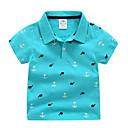 povoljno Majice za dječake-Dijete koje je tek prohodalo Dječaci Osnovni Jednobojni Kratkih rukava Majica s kratkim rukavima
