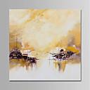 ieftine Picturi în Ulei-Hang-pictate pictură în ulei Pictat manual - Abstract Modern Fără a cadru interior / Canvas laminat