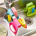 baratos Acessórios de Limpeza de Cozinha-Cozinha Produtos de limpeza Silicone Balde Armazenamento / Multi-Função / Gadget de Cozinha Criativa 1pç