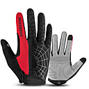cheap Human Hair Capless Wigs-ROCKBROS Full Finger Unisex Motorcycle Gloves Cloth Touch Screen / Breathable