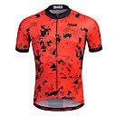 cheap Bike Cassettes and Drivetrains-21Grams Men's Short Sleeve Cycling Jersey - Red Stripe Classic Bike Shirt Sweatshirt Jersey, Breathable Quick Dry Reflective Strips 100% Polyester / Stretchy / Advanced / Sweat-wicking