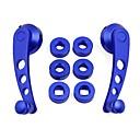 abordables Pomos para Palanca de Cambio-Pieza de recambio Universal Universal Aluminum Alloy