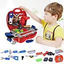 abordables Herramientas de juguete-Cajas de Herramientas Simulación / Interacción padre-hijo Carcasa de plástico Preescolar Regalo 19 pcs