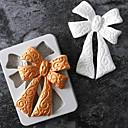 billige Bakeredskap-Bakeware verktøy Silikon Ferie / 3D-tegneseriefigur / Kreativ Kake / Sjokolade / For Godteri Rektangulær Cake Moulds 1pc