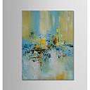 ieftine Picturi în Ulei-Hang-pictate pictură în ulei Pictat manual - Abstract Modern pânză
