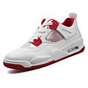 זול נעלי ספורט לגברים-בגדי ריקוד גברים PU קיץ & אביב נוחות נעלי אתלטיקה כדורסל לבן / אדום / כחול