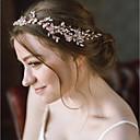 billige Kostymeparykk-Perle / Perlebelagt Hodetkjede med Imiterte Perler 1 Deler Bryllup / Spesiell Leilighet Hodeplagg