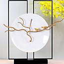 זול חפצים דקורטיביים-1pc קרמי / מתכת סגנון מינימליסטי ל קישוט הבית, קישוטים הביתה מתנות