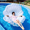 ieftine Corturi & Adăposturi-Scoică Aripioare PVC Durabil, Gonflabile Înot / Sporturi Acvatice pentru Adulți 160*135*30 cm