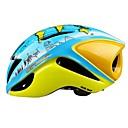 abordables Adhesivos de Pared-Adultos Casco de bicicleta / BMX Casco 12 Ventoleras Resistente a Golpes, Ajustable ESP+PC Deportes Ciclismo / Bicicleta - Azul + amarillo Unisex