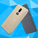 baratos Suportes & Apoios para Carros-Capinha Para OnePlus OnePlus 6 / OnePlus 5T Flip / Áspero Capa Proteção Completa Sólido Rígida PU Leather para OnePlus 6 / One Plus 5 / OnePlus 5T
