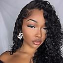 זול פיאות תחרה משיער אנושי-שיער ראמי חזית תחרה פאה שיער ברזיאלי מתולתל פאה 130% עם שיער בייבי / הגעה חדשה / שיער טבעי טבעי בגדי ריקוד נשים חצי אורך פיאות תחרה משיער אנושי