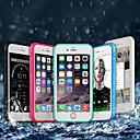 זול מגנים לטלפון & מגני מסך-מגן עבור Apple iPhone X / iPhone 8 Plus עמיד במים / עמיד בזעזועים כיסוי מלא אחיד רך TPU ל iPhone X / iPhone 8 Plus / iPhone 8
