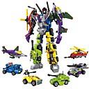 povoljno Kacige i potkape-Kocke za slaganje Građevinski set igračke Poučna igračka 506 pcs Automobil Helikopter Roboti kompatibilan Legoing transformabilan Dječaci Djevojčice Igračke za kućne ljubimce Poklon