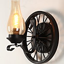 tanie Kinkiety Ścienne-Lampy ścienne Salon / Sypialnia Metal Światło ścienne 220-240V 40 W / E27
