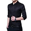 billige Smartklokker-Skjorte Herre - Ensfarget Forretning