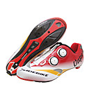 cheap Halloween Party Supplies-SIDEBIKE Adults' Cycling Shoes With Pedals & Cleats / Road Bike Shoes Carbon Fiber Cushioning Cycling Red / White Men's