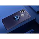 זול מגנים לטלפון & מגני מסך-מגן עבור Xiaomi Mi 8 עם מעמד / מחזיק טבעת / אולטרה דק כיסוי אחורי אחיד רך TPU ל Xiaomi Mi 8