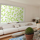 preiswerte Kronleuchter-Fenster Film & Aufkleber Dekoration Blumig Blumen PVC Fenster-Aufkleber
