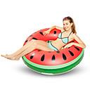 abordables Calcomanías de Uñas-Sandía Colchonetas inflables para piscina PVC Duradero, Inflable Natación / Deportes acuáticos para Adultos 120*120*30 cm