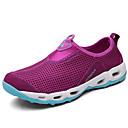 זול מוקסינים לנשים-בגדי ריקוד נשים נעליים רשת קיץ נוחות נעלי אתלטיקה נעלי ספורט מים שטוח אפור / סגול