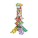 זול בלוקים מגנטיים-מקלות מגנטיים 320 pcs יצירתי טרנספורמבל אינטראקציה בין הורים לילד כל בנים בנות צעצועים מתנות