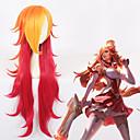 preiswerte Anime Cosplay Perücken-Cosplay Perücken Cosplay Cosplay Rot Anime Cosplay Perücken 32 Zoll Hitzebeständige Faser Alles Halloween-Perücken