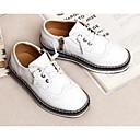 זול נעלי ילדים-בנים נעליים PU קיץ & אביב נוחות נעלי אוקספורד ל לבן / שחור