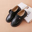 ieftine Pantofi Fetițe-Fete Pantofi Piele Primăvara & toamnă Confortabili Pantofi Flați Flori pentru Copii Negru / Rosu