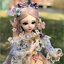 preiswerte Zubehör für Puppen-Doris Mädchen Puppe Kugelgefügte Puppe Blythe Puppe Baby Mädchen 20 Zoll Ganzkörper Silikon - Niedlich Exquisit Hochtemperaturbeständige Faser Perücken Kinder Mädchen Spielzeuge Geschenk