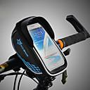 abordables Bolsas para Cuadro de Bici-ROCKBROS Bolso del teléfono celular / Bolsa para Cuadro de Bici Pantalla táctil, Impermeable, Ligero Bolsa para Bicicleta TPU / EVA / Poliéster Bolsa para Bicicleta Bolsa de Ciclismo Ciclismo