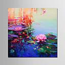 ieftine Picturi cu Peisaje-Hang-pictate pictură în ulei Pictat manual - Peisaj / Floral / Botanic Modern pânză