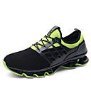 זול נעלי ספורט לגברים-בגדי ריקוד גברים נעלי נוחות בד גמיש / Tissage וולנט אביב קיץ ספורטיבי נעלי אתלטיקה הליכה נושם שחור / שחור אדום / שחור / ירוק