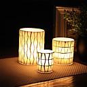 זול נרות ופמוטים-סגנון מינימליסטי / סגנון ארופאי זכוכית פמוטים Candelabra 3pcs, מחזיק נר / נרות