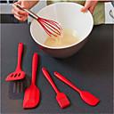halpa Keittiövälineet-5 kpl silikoni leivonta kokki leipomo asettaa keittiö diy ruoanlaitto työkalut leivonnaiset öljy työkalu basting harjat spatulas