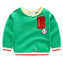 povoljno Majice za dječake-Djeca Dječaci Osnovni Jednobojni Dugih rukava Bluza