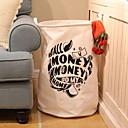 povoljno Naušnice-Platno Krug Slatko Dom Organizacija, 1pc Koševi za pohranu