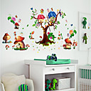 cheap Wall Stickers-Decorative Wall Stickers / Fridge Stickers - Plane Wall Stickers / 3D Wall Stickers Landscape / 3D Nursery / Kids Room