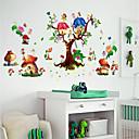 preiswerte Wand-Sticker-Dekorative Wand Sticker / Kühlschrank Sticker - Flugzeug-Wand Sticker / 3D Wand Sticker Landschaft / 3D Kindergarten / Kinderzimmer