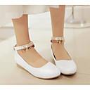 povoljno Ženske cipele s petom-Žene Cipele PU Proljeće Udobne cipele Ravne cipele Ravna potpetica Obala / Plava / Pink