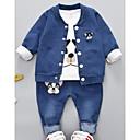 ieftine Set Îmbrăcăminte Bebeluși-Bebelus Fete Geometric Manșon Lung Set Îmbrăcăminte