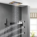 זול ברזים למקלחת-ברז למקלחת - עכשווי צביעה מערכת למקלחת שסתום קרמי