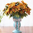 Χαμηλού Κόστους Διακοσμητικά Τραπεζιού-Ψεύτικα λουλούδια 1 Κλαδί Κλασσικό Βίντατζ / Ευρωπαϊκό Ηλιοτρόπια Λουλούδι για Τραπέζι