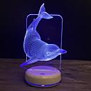 cheap Night Lights-1pc 3D Nightlight USB Cartoon / New Design / Creative <5 V