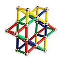 hesapli Mıknatıslı Oyuncaklar-Manyetik Çubuklar 96 pcs Yaratıcı transformable Ebeveyn-Çocuk Etkileşimi Hepsi Genç Erkek Genç Kız Oyuncaklar Hediye