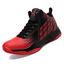 ieftine Șlapi Bărbați & Flip-Flops-Bărbați Imitație Piele / PU Toamnă Confortabili Adidași de Atletism Basket Bloc Culoare Alb / Negru / Rosu