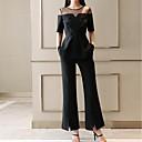 abordables Extensiones de Color Degradé-Mujer Chic de Calle / Sofisticado Conjunto - Un Color, Malla Pantalón